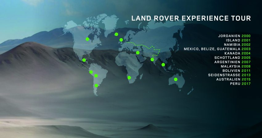 Land Rover Experience Tour seit 2000